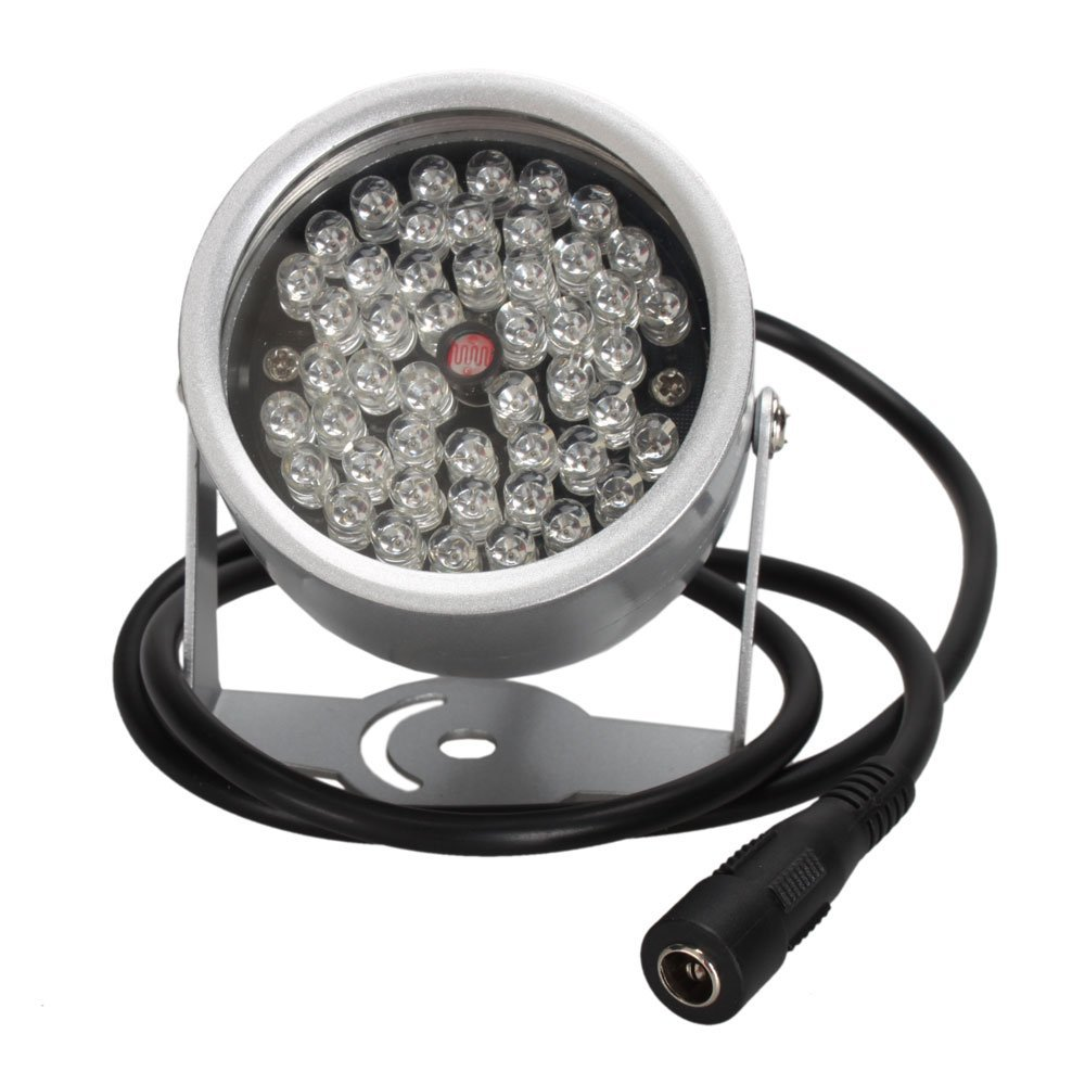 48 LED IR Infrared Full Spectrum Low Light Illuminator