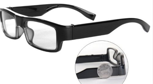 HD 720p Clear Eye Glasses Covert Hidden Camera (Wire Free)