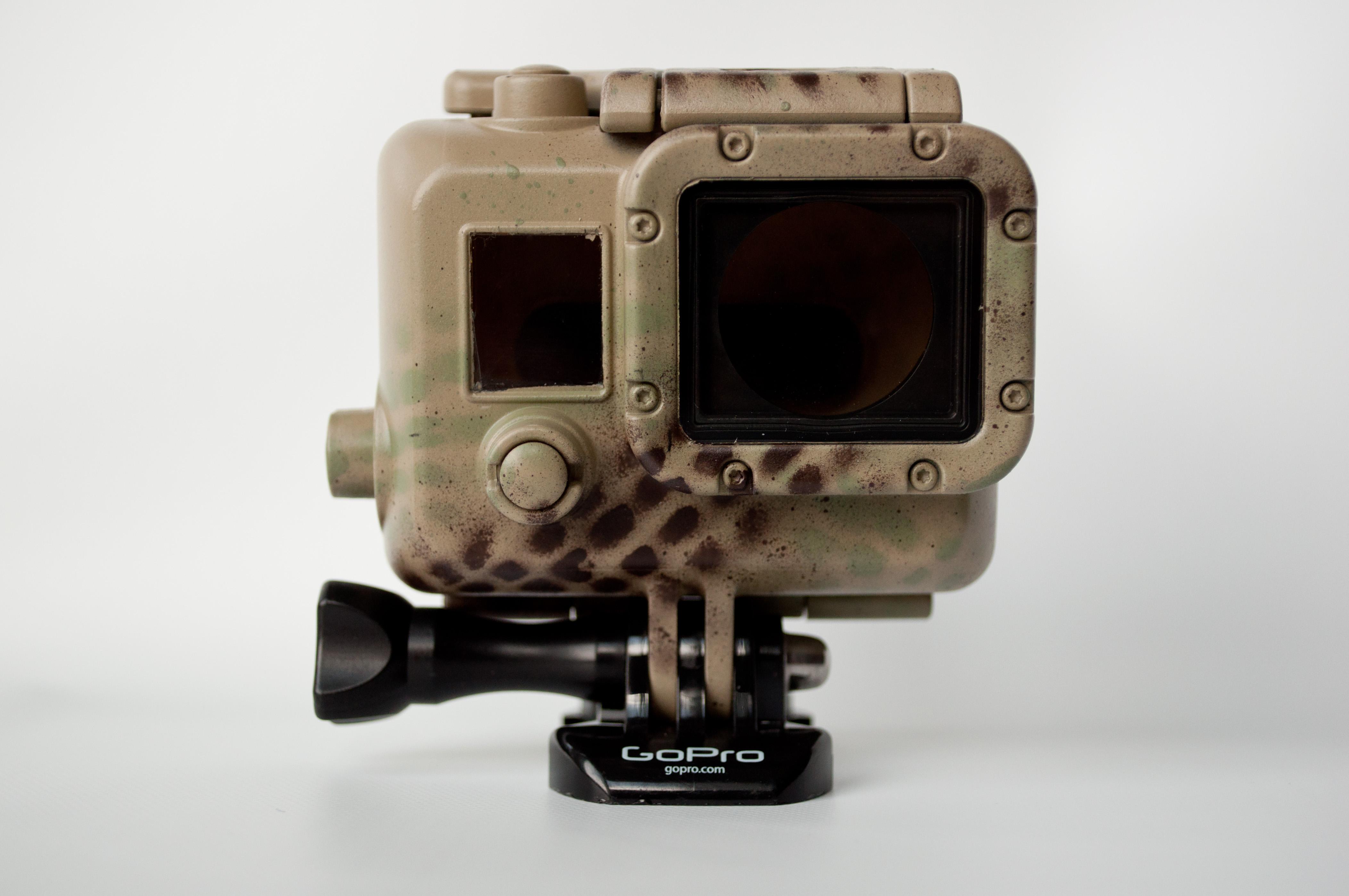 GoPro Hero 3 3+ 4 Case Woodland - 1519.0KB