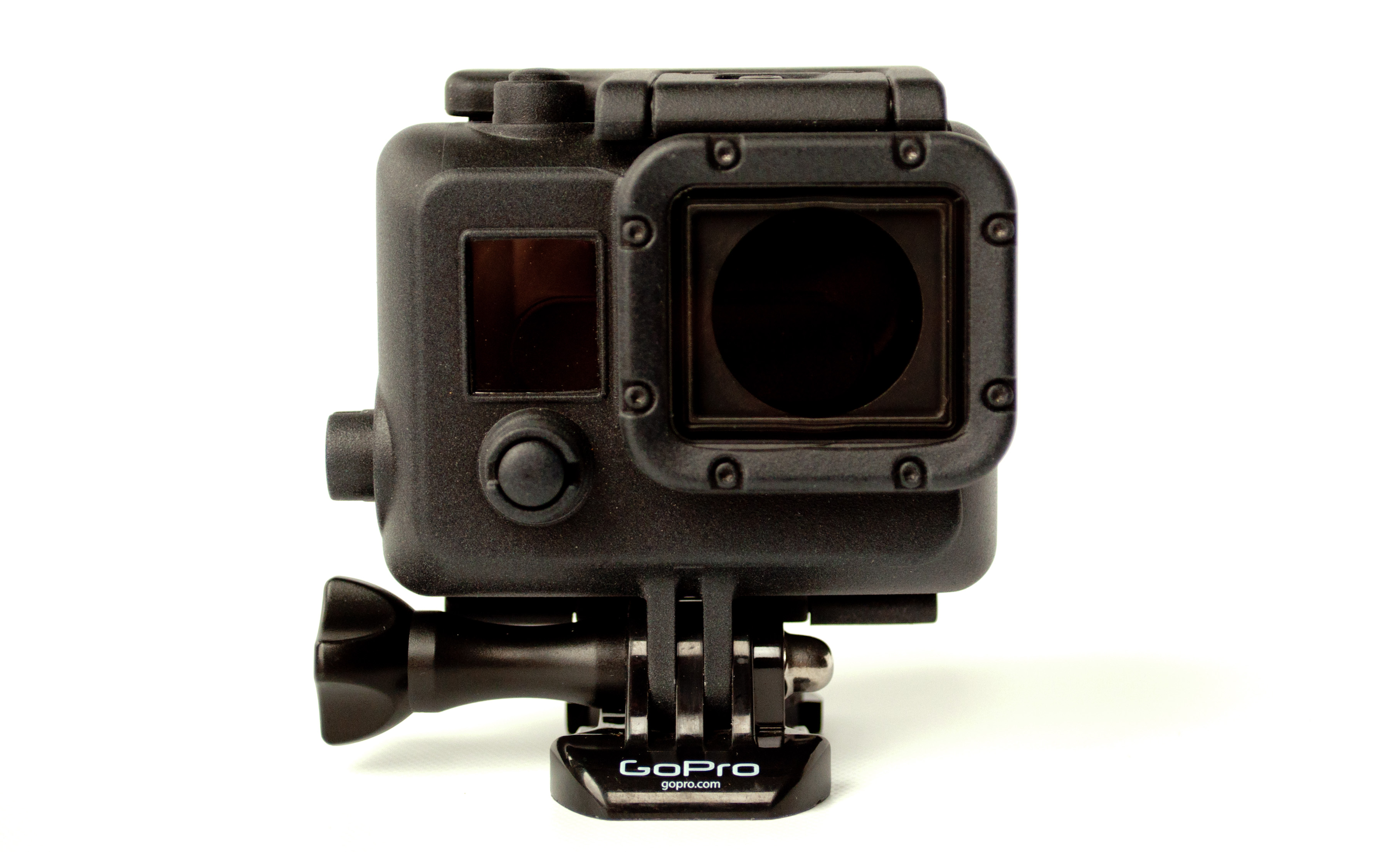 GoPro Hero 3 3+ 4 Case Black Blackout Waterproof Housing