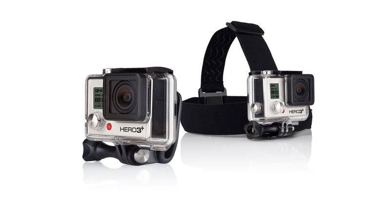 GoPro HD Hero 3 3+ Head Strap Mount + Quick Clip
