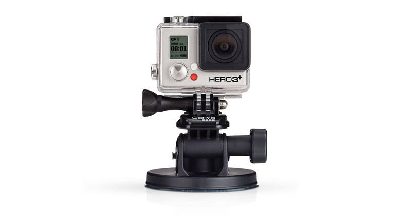 GoPro HD Hero 3 3+ Suction Cup Mount