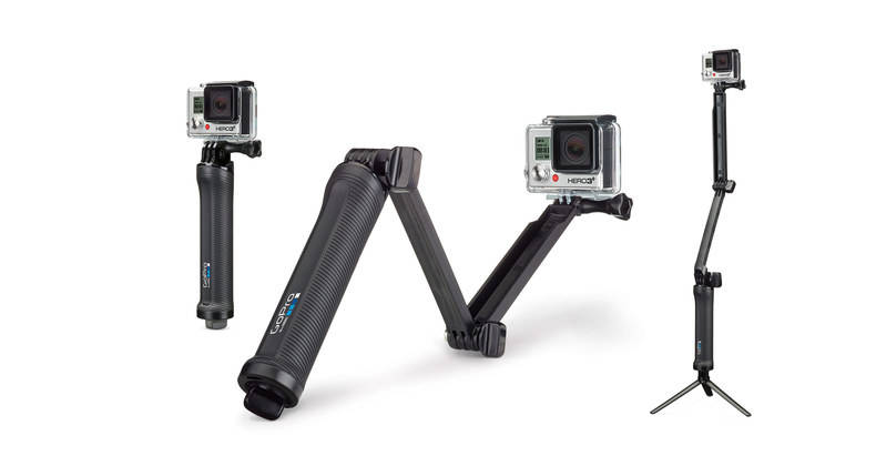 GoPro HD Hero 3 3+ 3-Way Mount