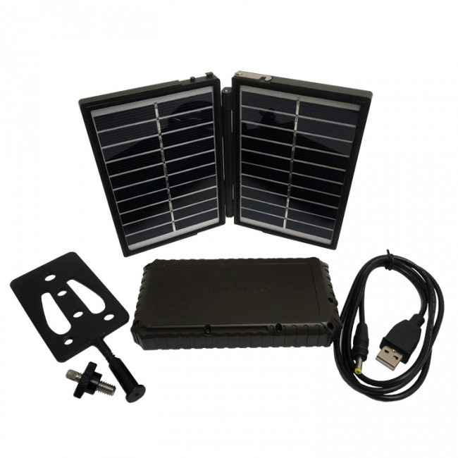 Trail Camera Solar Panel Charger and 7200mAh Power Bank