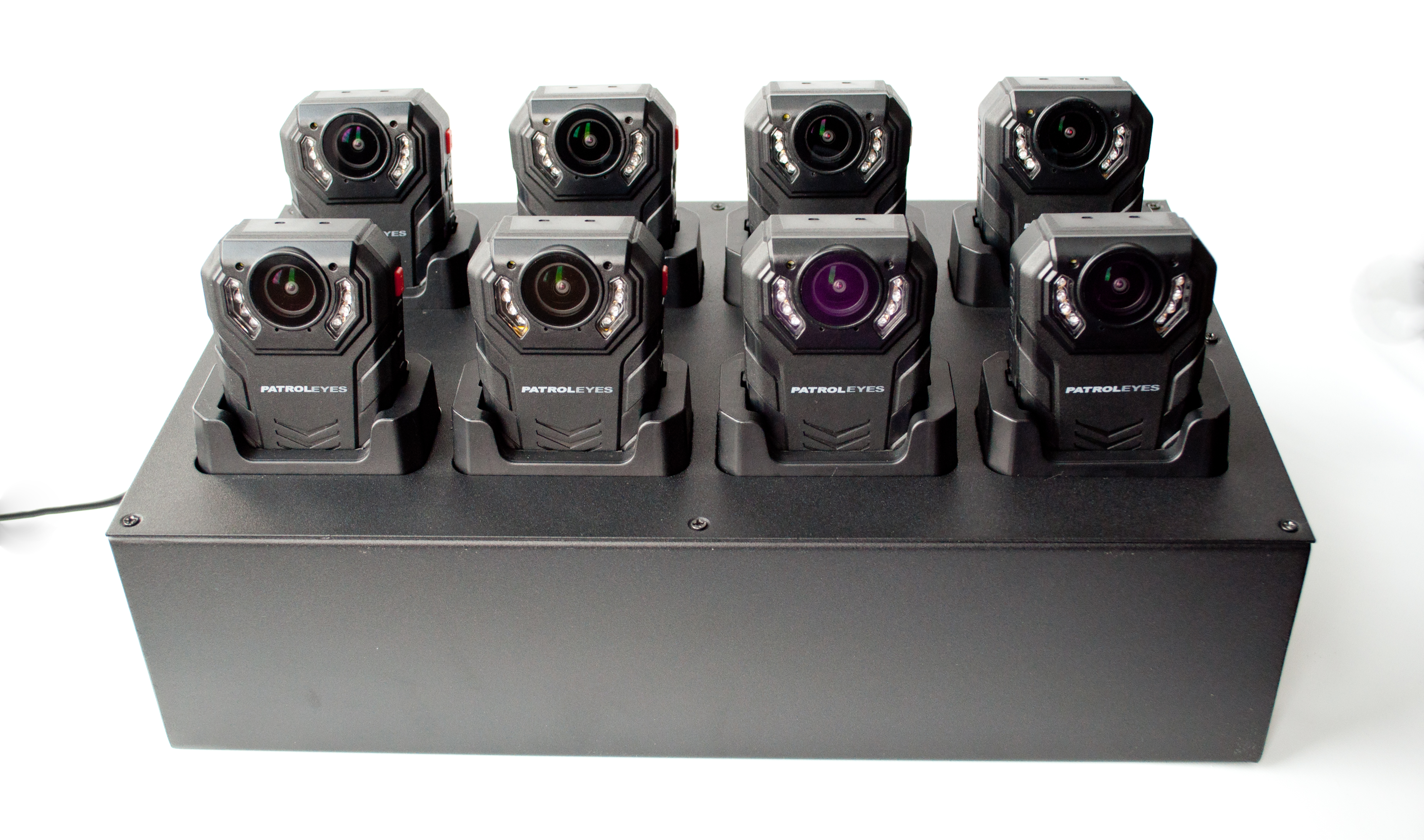 PatrolEyes SC-DV7 Police Data Transfer 8 Camera Docking Station