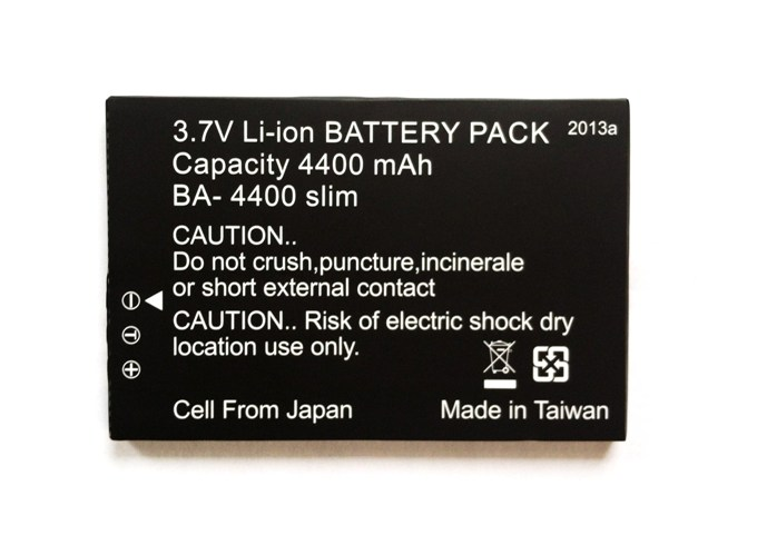 PV-1000 Touch Neo Lithium Battery <br> (4400mAh)