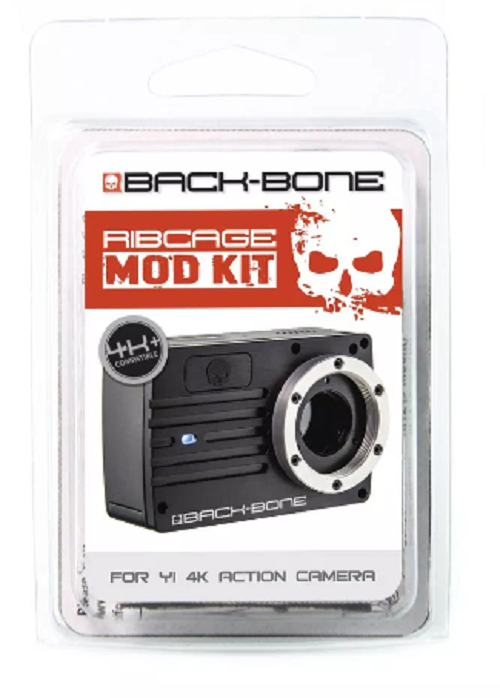 Back-Bone Ribcage Interchangeable Kit for Yi 4K Camera