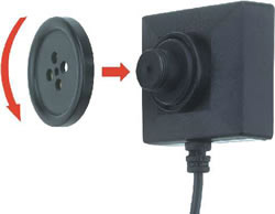 Mini 550 Resolution Button Screw Micro Camera
