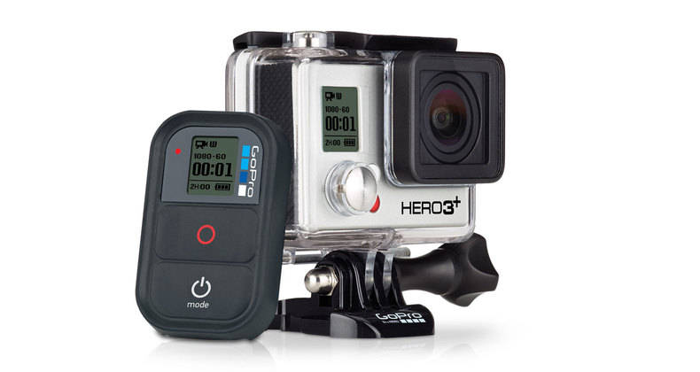 GoPro HD HERO 3+ Plus Black Edition 4K Camera