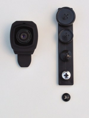 HD 1080P Button Narrow View Screw Pinhole Camera
