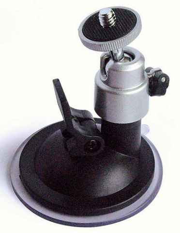 Contour Low Profile Window Suction Cup Mount