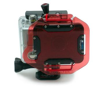 GoPro 2 HD Oculus Red Filter for Dive Housing