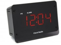Zone Shield HD 4K IR AC Power Clock Radio Camera DVR