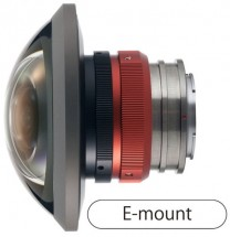 Entaniya HAL 250 Degree 3.0 E-Mount Fish Eye 360 VR Lens