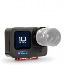 Back-Bone Ribcage H10PRO Modified MFT M12 CS C Mount GoPro Hero10 Black Camera