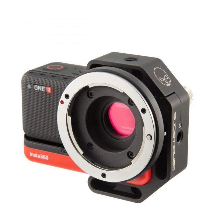 Backbone Ribcage Modified INSTA360 ONE R 5.3K Camera