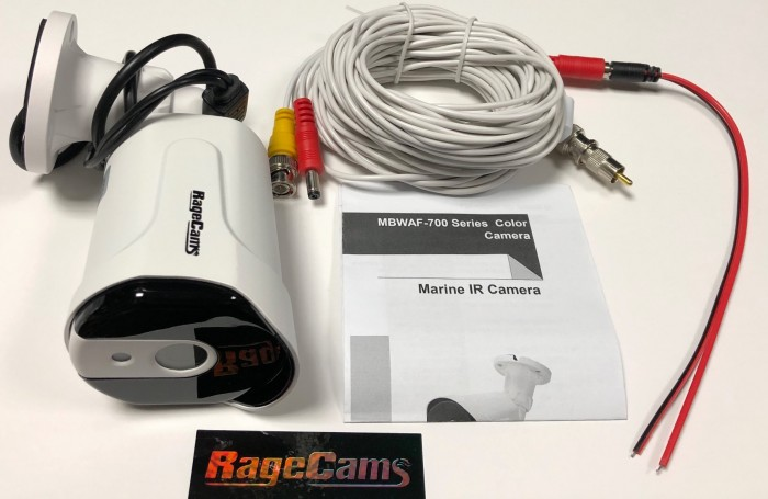Marine Infrared Wide Lens Defog Reverse Bullet Camera