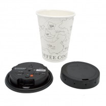 Lawmate 1080P Covert Coffee Cup Lid Camera DVR with WiFi