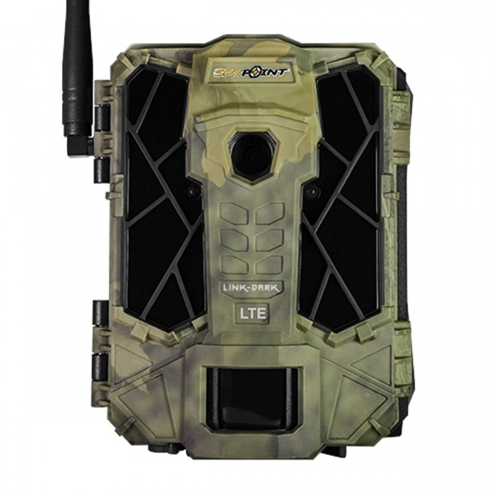 Spypoint Link Dark 4G LTE Cellular Trail Camera with Batteries Verizon LTE SD Card and Mount