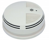 Night Vision Smoke Detector Camera DVR with WiFi (Side view)