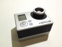 12mm Lens With Focus Ring For GoPro Hero 3 and 4 Cameras