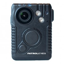 PatrolEyes WiFi Pro 1080P HD GPS Infrared Police Body Camera