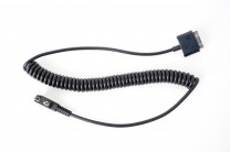 PatrolEyes HD Kenwood Push to Talk PTT Walkie Talkie Cable