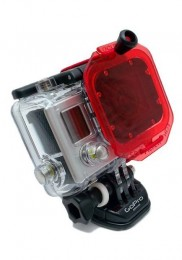 GoPro HD 3 Oculus Red Color Correction Underwater Dive Filter