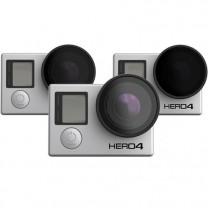 Polar Pro Polarizer Neutral Density Filter 3pk for GoPro Cameras