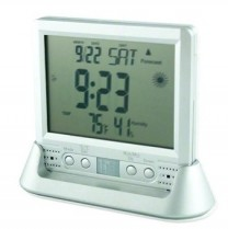 1080P HD Clock Weather Station Thermometer Covert Camera