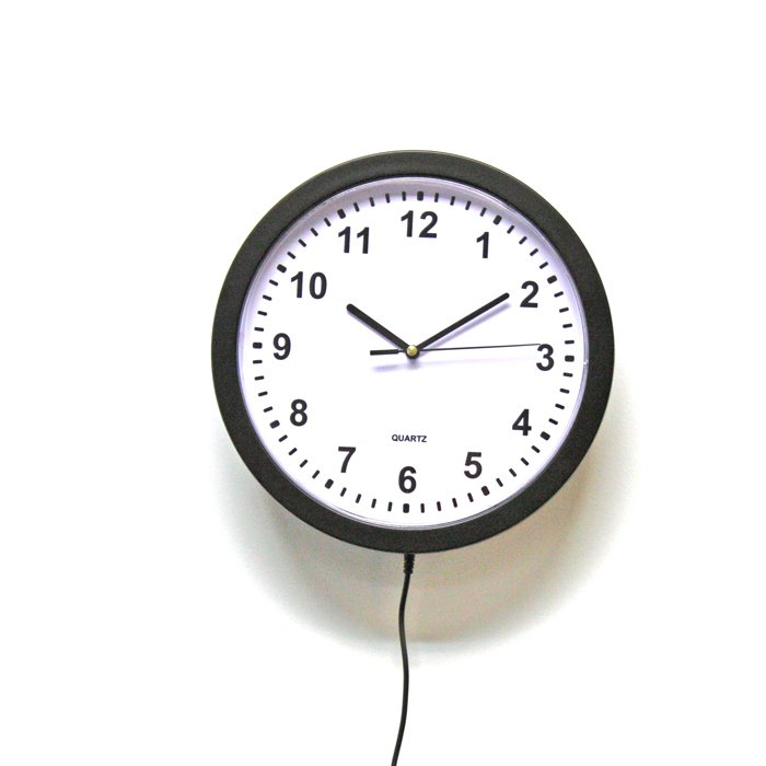 Wall Clock Video Recorder DVR with WiFi