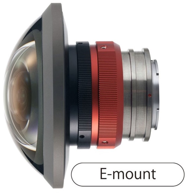 Entaniya HAL 250 Degree 3.0 E-Mount Fish Eye Lens