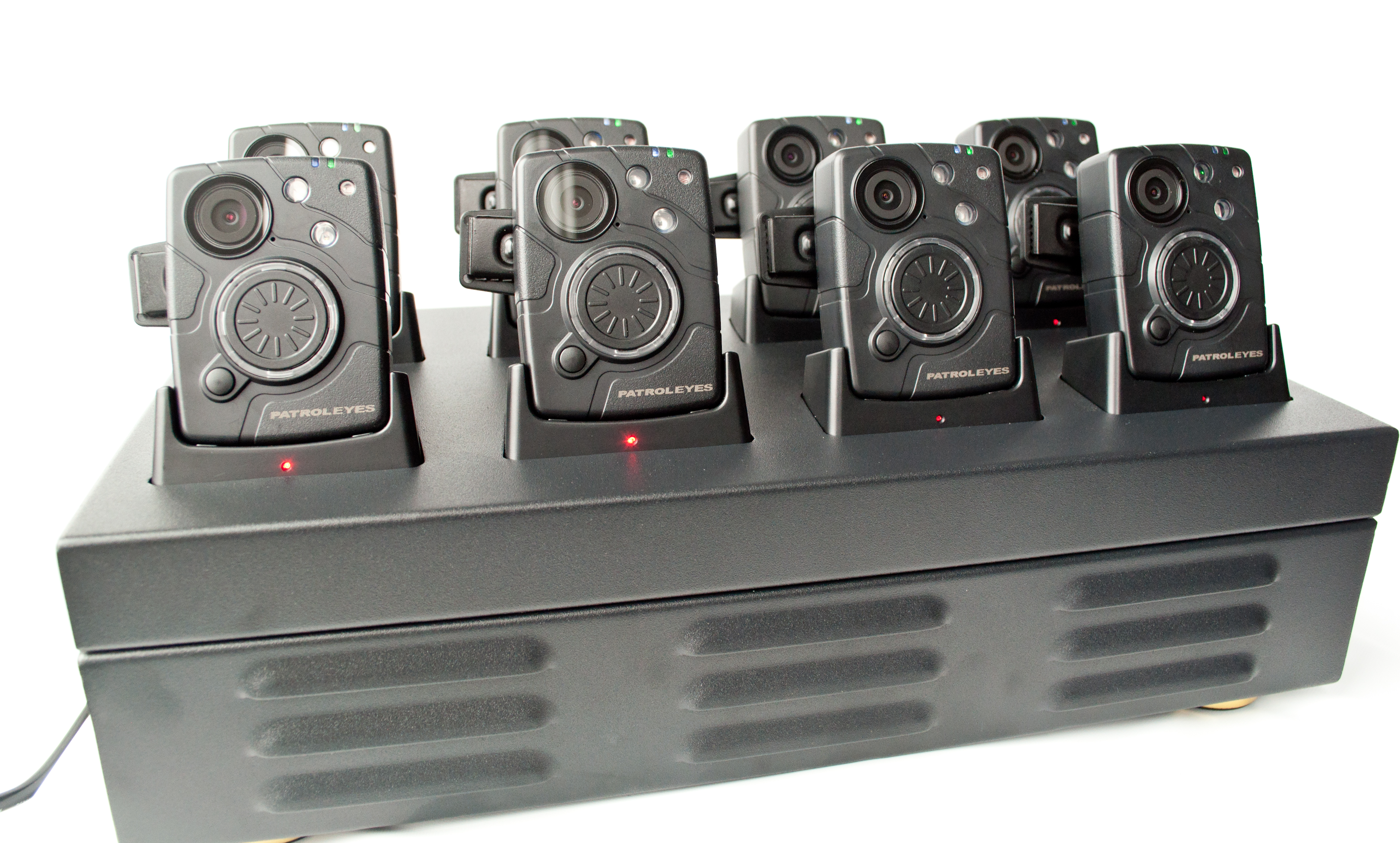 PatrolEyes SC-DV10 Police Data Transfer 8 Camera Docking Station