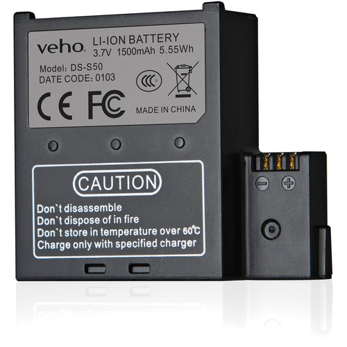 Veho Muvi K-Series Spare Battery 1500mAH