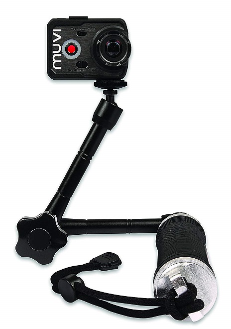 Veho Muvi 3-Way Monopod with Extended Arm