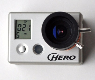 GoPro HD Modified Lens 1080p Camera <BR> (IR Capable)